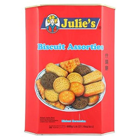 Julie's Biscuit Assorties 530g (628MART)