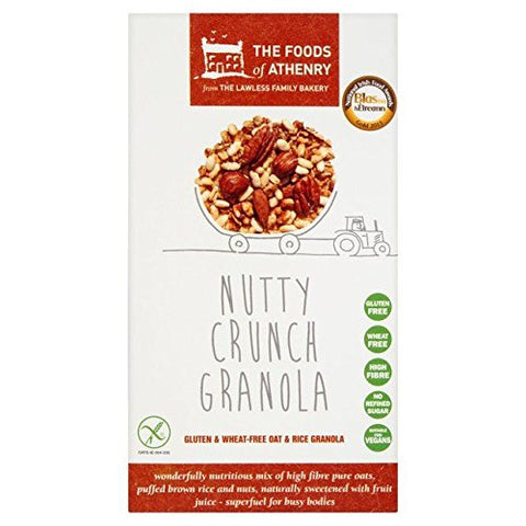 Foods of Athenry Gluten Free Nutty Crunch Granola 300g