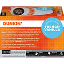 Image of Dunkin' Donuts Coffee, French Vanilla Flavored Coffee, K Cup Pods for Keurig Coffee Makers, 60 Count