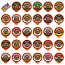 Image of Flavored Coffee in Single Serve Coffee Pods - Flavor Coffee Variety Pack for Keurig K Cups Machine from Crazy Cups, 30 Count