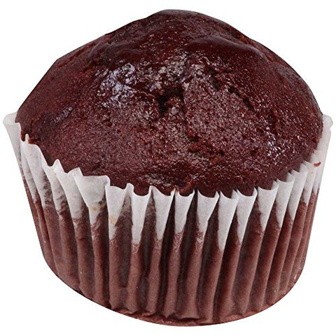 Chef Pierre Individually Wrapped Whole Grain Double Chocolate Muffin, 2 Ounce -- 48 per case.