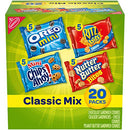 Image of Nabisco Classic Mix Variety Pack, OREO Mini, CHIPS AHOY! Mini, Nutter Butter Bites, RITZ Bits Cheese, 20 - 1 oz Snack Packs