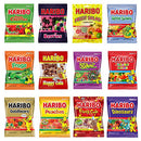 Image of Haribo Gummy Gummies Candy Assorted Variety (Pack of 12)