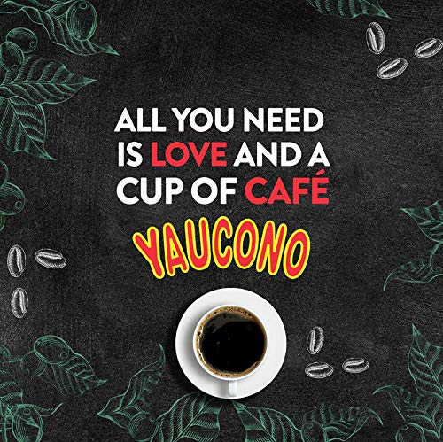 Yaucono Ground Coffee Bagged, 14 Ounce (Pack of 9)
