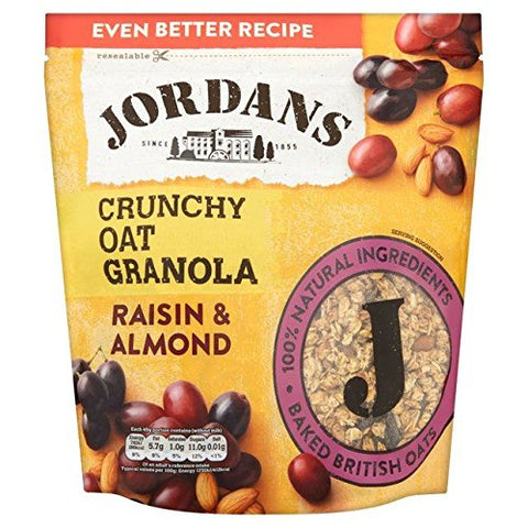 Jordans Crunchy Granola with Raisins & Almonds 750g