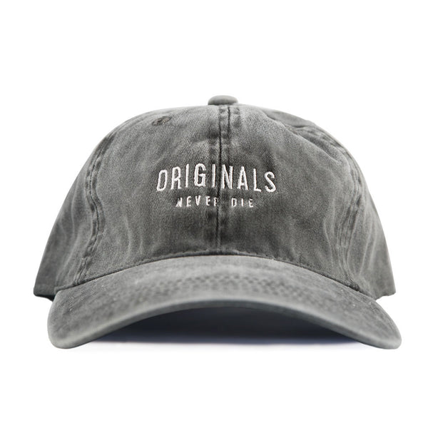 ORIGINALS NEVER DIE LIMITED EDITION STRAPBACK HAT (STONEWASHED) - SMAX E-Liquid made with Tobacco Free Nicotine