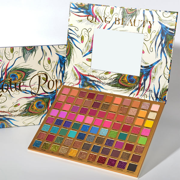 Exotic Pop Palette