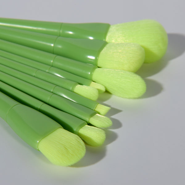 Avocado Makeup Brush Set