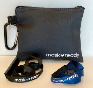 New Pouch - Mask Ready Kit (Black)