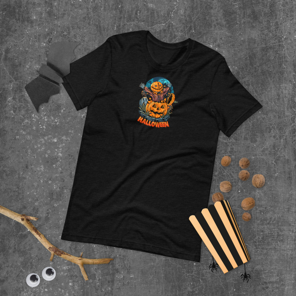 Halloween Surprise Pumpkin T-Shirt