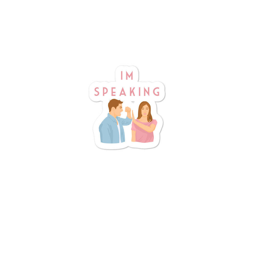 Im Speaking stickers
