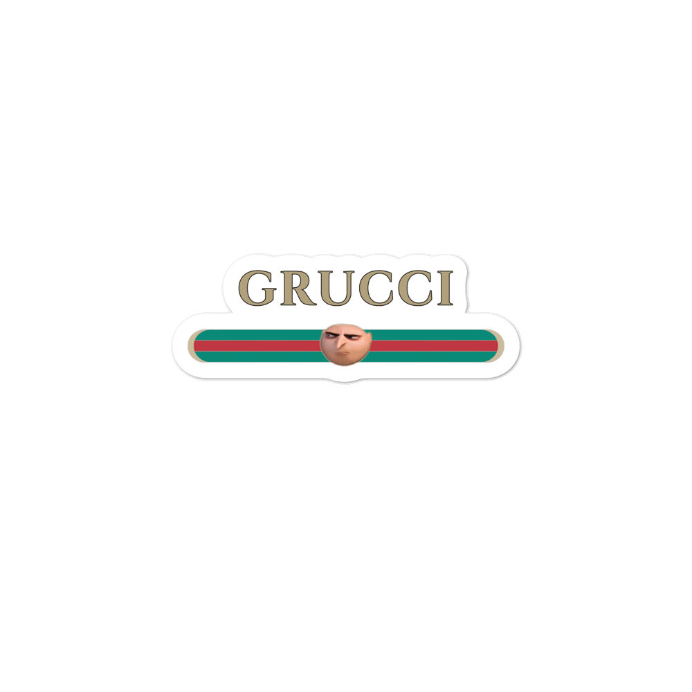 Grucci Meme stickers