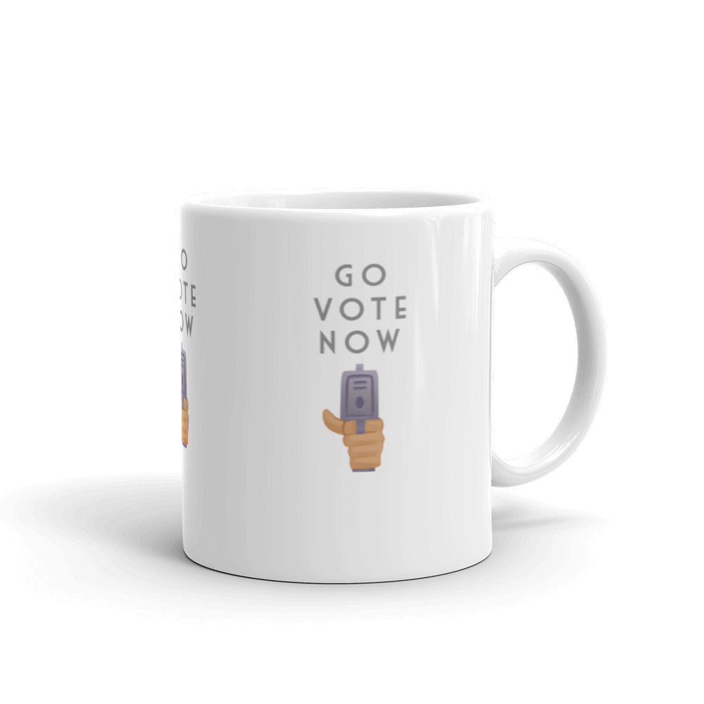 Go Vote Now! Mug