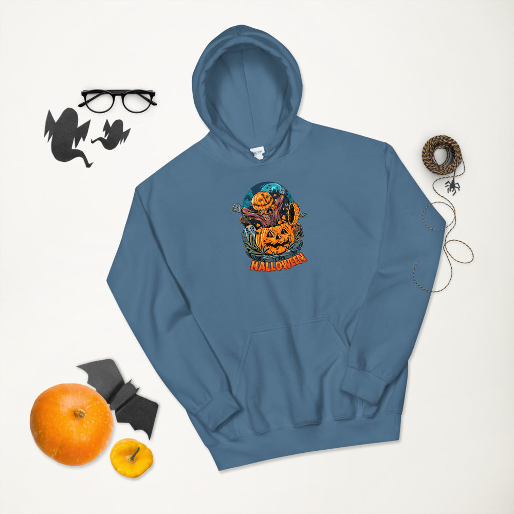 Halloween Surprise Pumpkin Hoodie