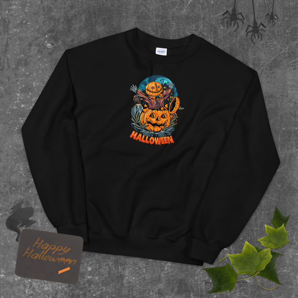 Halloween Surprise Pumpkin Sweatshirt