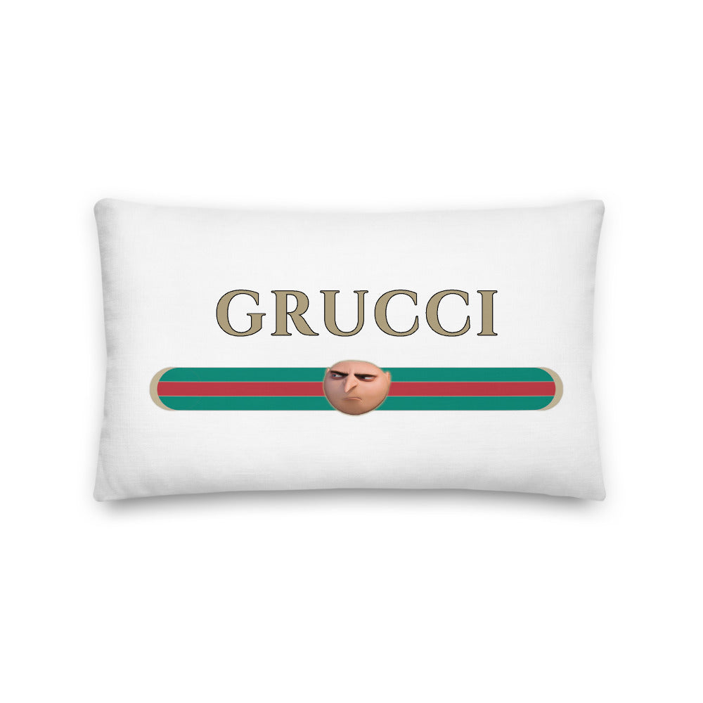 Grucci Meme Pillow