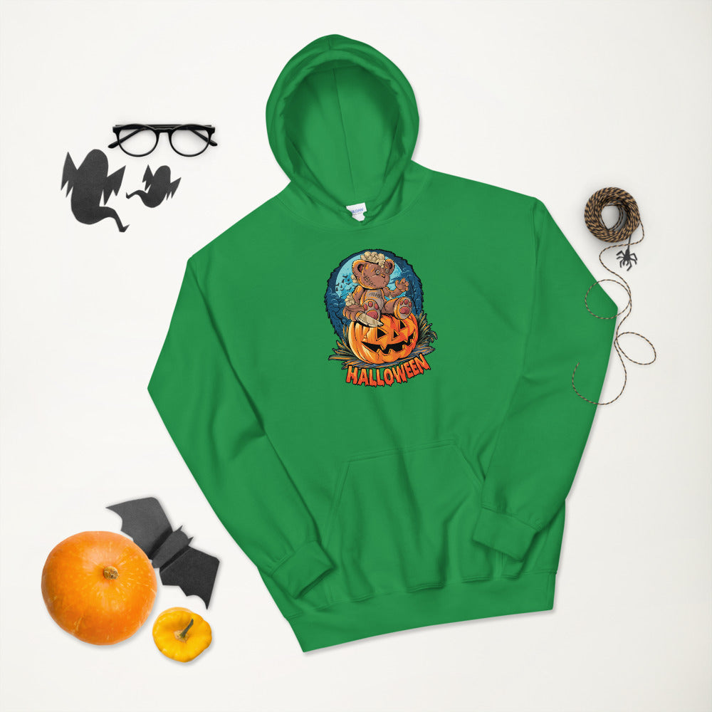 Cute Halloween teddy bear Hoodie