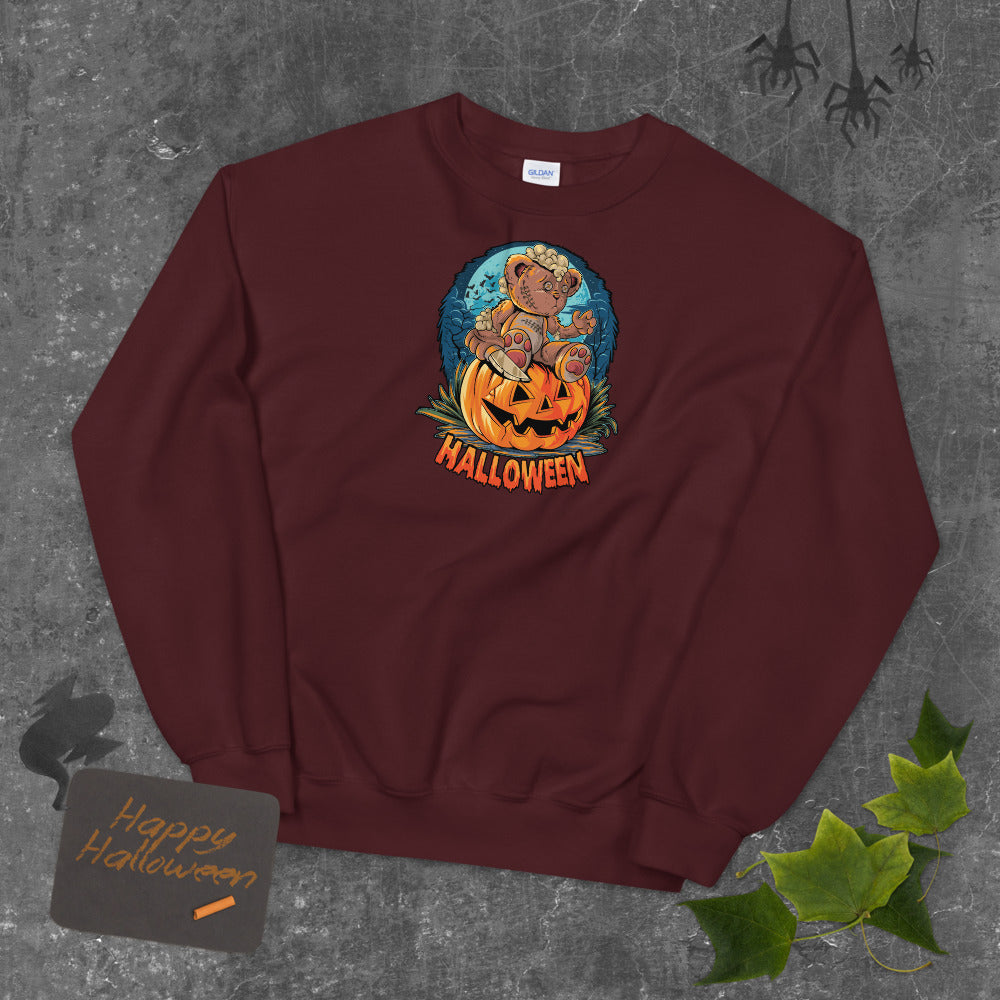 Cute Halloween teddy bear Sweatshirt