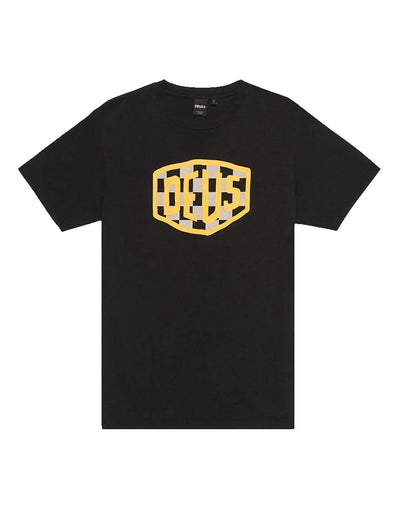 Deus Ex Machina Moto Shield T-shirt Black