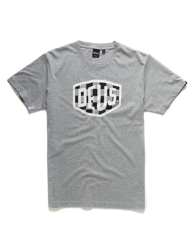 Deus Ex Machina Moto Shield T-shirt Grey
