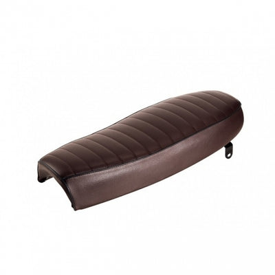 brown motorcycle seat