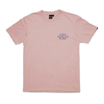 Deus Ex Machine Cruz Dusty Pink t-shirt at Dude Bikes Riga Latvia