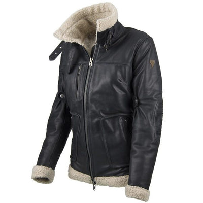 leather motorcycle jacket for women