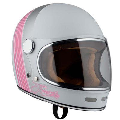 By City Roadster Pink Motorcycle Helmet - for man and woman by Dude Bikes