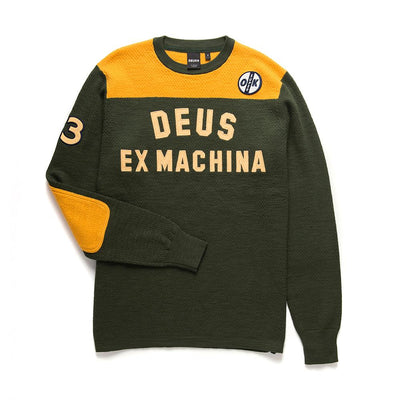 Deus Ex Machina Moto X Knit Green Gold