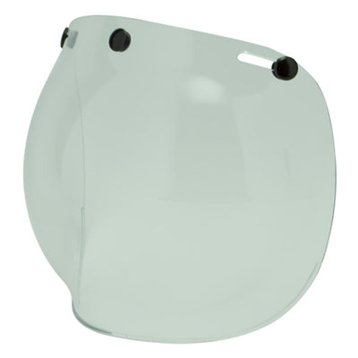 Clear Bubble Two Strokes Visor for Motorcycle Helmet