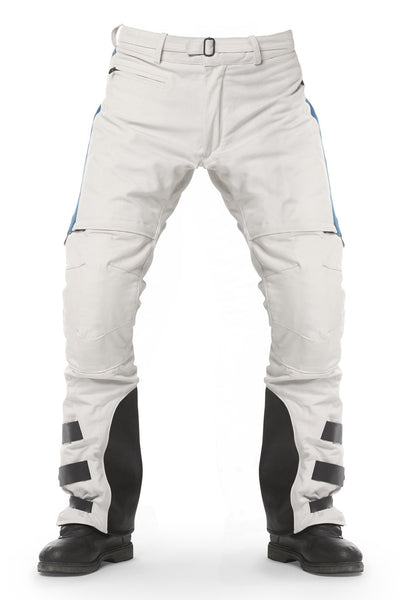 Rally raid pants white