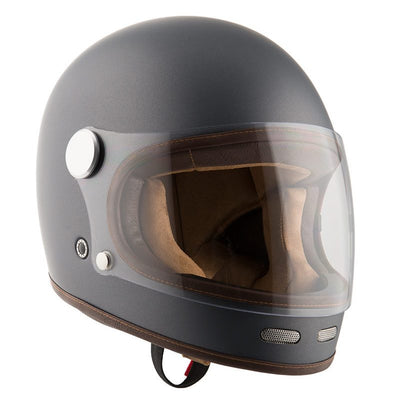 Dude Bikes - By City Roadster II Matt Gray Motorcycle Helmet