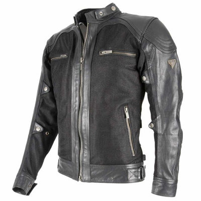 black classic motorcycle jacket for men at dude bikes