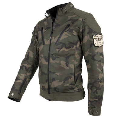 By City Sprin Camouflage motorcycle riding jacket