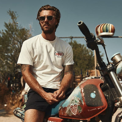 Deus Ex Machina Topanga Recycled T-shirt at Dude Bikes Riga Latvia