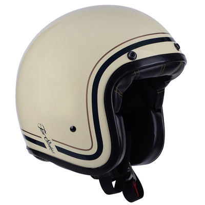Helmet Two Strokes Matt Beige design By City