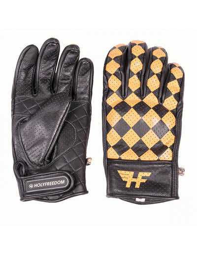 Holyfreedom leather motorcycle gloves