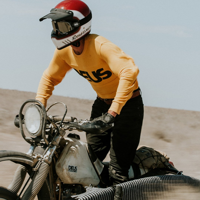 Deus Ex Machina moto jersey at Dude Bikes