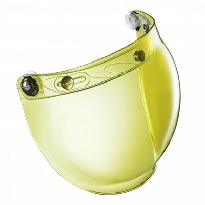 Windshield yellow for Classic Motorcycle Helmets