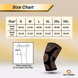 Copper Infused Knee Brace | Quickly Relieves Pain and Swelling | Gives Much Needed Support