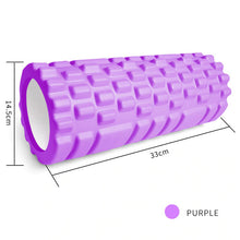 Load image into Gallery viewer, Textured Firm Foam Roller  Massages Deep into Muscles for Instant Tension Release and Pain Relief