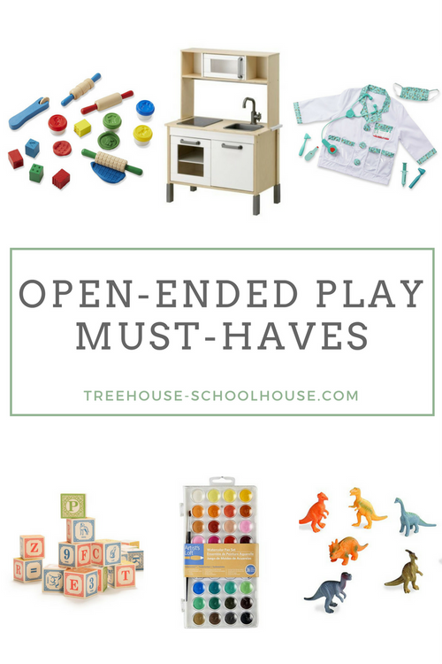 Open-Ended Play Must-Haves