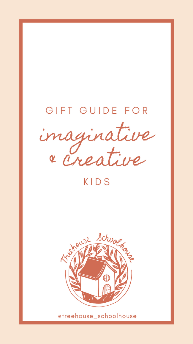 Gift Guide for Imaginative Creative Kids