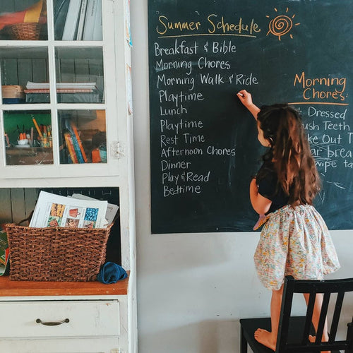 DIY Large Wall Chalkboard Instructions