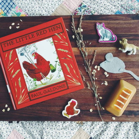 Little Red Hen Play Based Narration