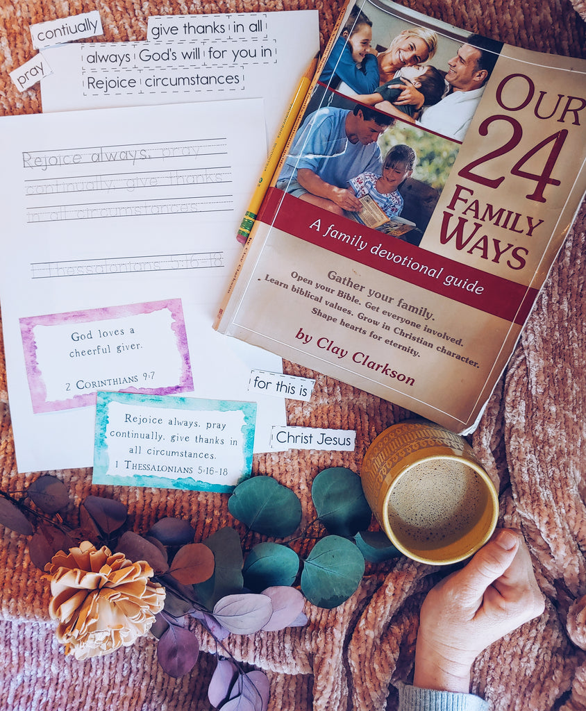 Our 24 Family Ways Devotional