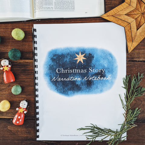 Christmas Story Narration Notebook