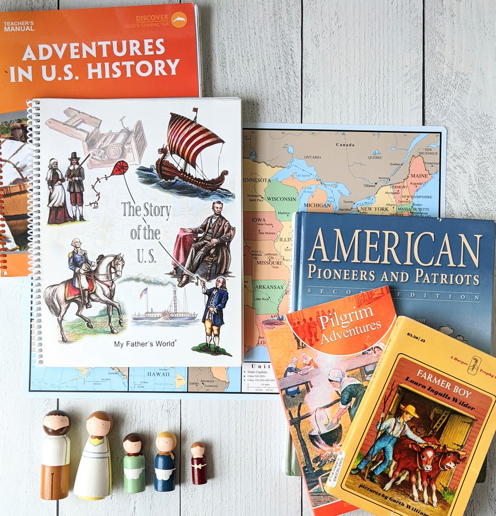 My Father's World Adventures in US History