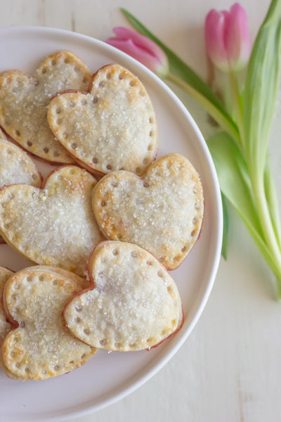Strawberry Pie Hearts