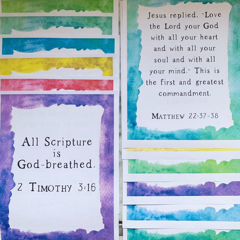 Scripture Memorization Sets Kids